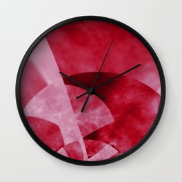 Thinking of Cherry Jello Salad Wall Clock