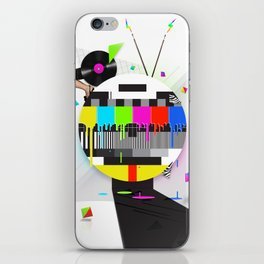 Molten Colour Bars iPhone Skin