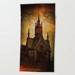 Gothic Sweet Gothic Beach Towel