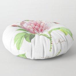 Paris Rose Floor Pillow