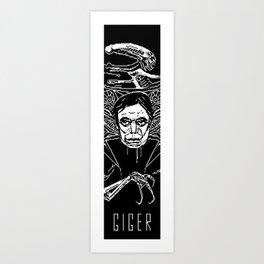 GIGER Art Print