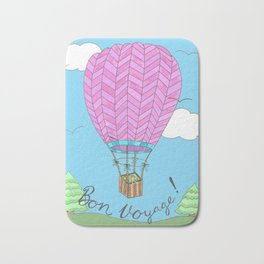 Hot Air Balloon Travel Bath Mat
