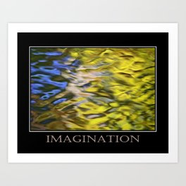 Inspiring Imagination Art Print