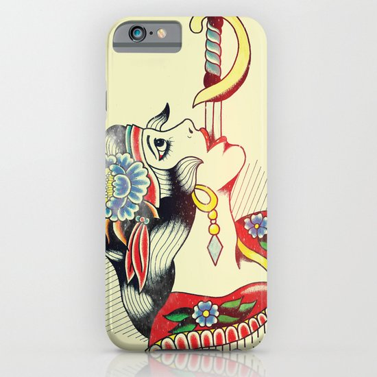 Sword Magic Girl iPhone & iPod Case
