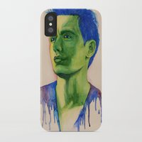 james franco iPhone & iPod Cases featuring James Franco by Arch & Aya