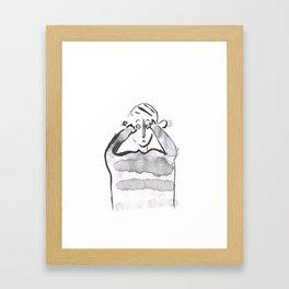 conversation 9 Framed Art Print