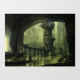 Ravnica Swamp Canvas Print