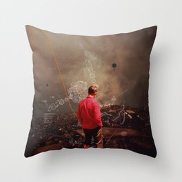 Weighing my Chances to Return Throw Pillow