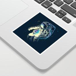 Space Ethereum - Navy Version Sticker