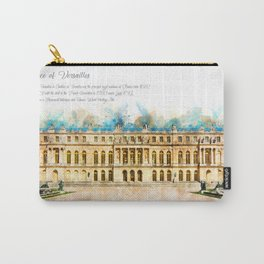 Versailles, Aquarell Carry-All Pouch