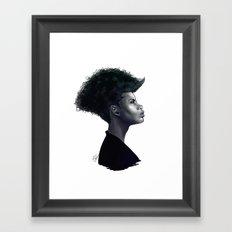 Sister Rust Framed Art Print