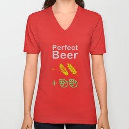 Perfect Beer Unisex V-Neck