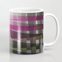 rug Mugs featuring Rug II by SensualPatterns