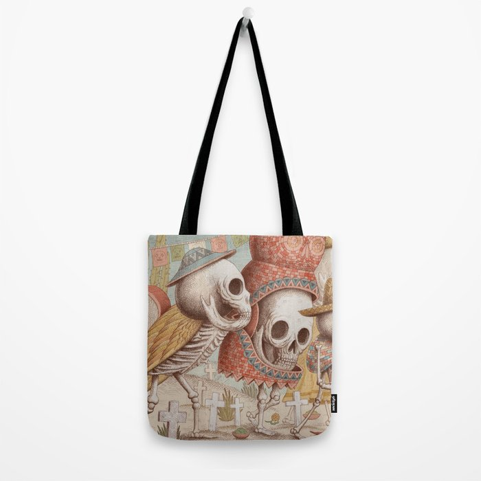 Mexican Skulls 1 Tote Bag