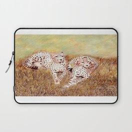 Resting Cheetahs Laptop Sleeve