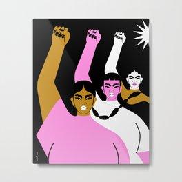 Resistance is Female II Metal Print