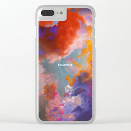 Eclaircie Clear iPhone Case