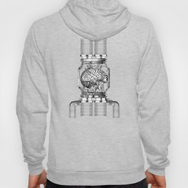 Mother Brain Super Metroid Engraving Scene Hoody