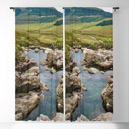 Fairy Pools, Isle of Skye Blackout Curtain