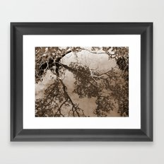 Past and Present Framed Art Print