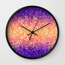 Glitter Graphic Background G106 Wall Clock
