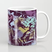 predator Mugs featuring predator by SaniQ