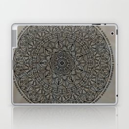 Circle of Life Mandala Brown and Blue Laptop & iPad Skin