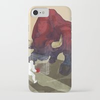 courage iPhone & iPod Cases featuring Courage by GlendaTse