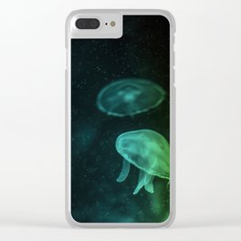 Sea Jelly Clear iPhone Case