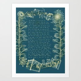 Love Poem Art Print