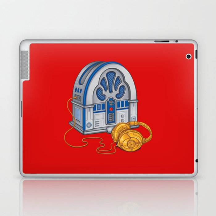 Beats by Droid - Recycled Future Laptop & iPad Skin