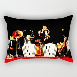 Cotton Club Crooners Rectangular Pillow