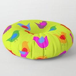 Scandinavian Birds Floor Pillow