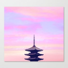 Kyoto Aurora Canvas Print