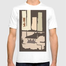 Value Mens Fitted Tee White MEDIUM