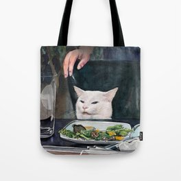 Woman Yelling at Cat Meme-2 Tote Bag
