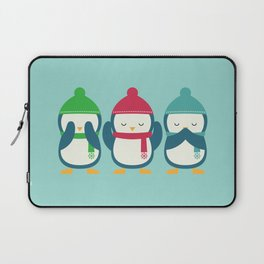 No Evil In Holiday Laptop Sleeve