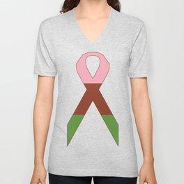 Gynesexual Ribbon Unisex V-Neck