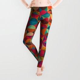 Energy Deco Retro Pattern Leggings