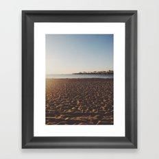 Santa Cruz, CA Framed Art Print