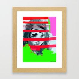 Garunteed to be in ICU Framed Art Print