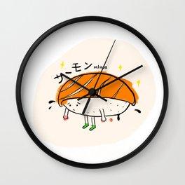 Salmon Sushi Wall Clock
