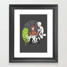 Poker 2001 Framed Art Print
