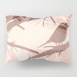 Bird tree Pillow Sham