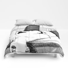 asc 552 - Les petits voyeurs (Small voyeurs) Comforters