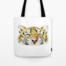 Happy Tiger Tote Bag