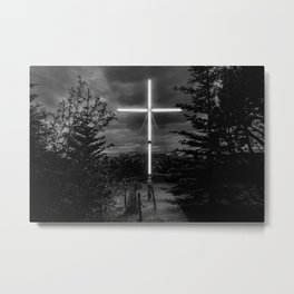 Husavik cross Metal Print