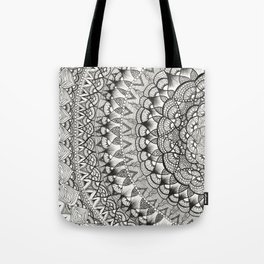 Crescent Mandala Tote Bag