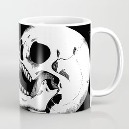 Finger Gun Skeleton Coffee Mug