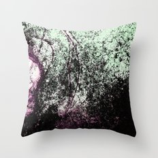 Stain Abstract 1 Throw Pillow